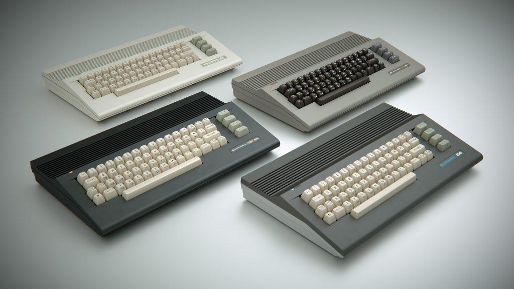 Die neuen C64C Gehäuse.