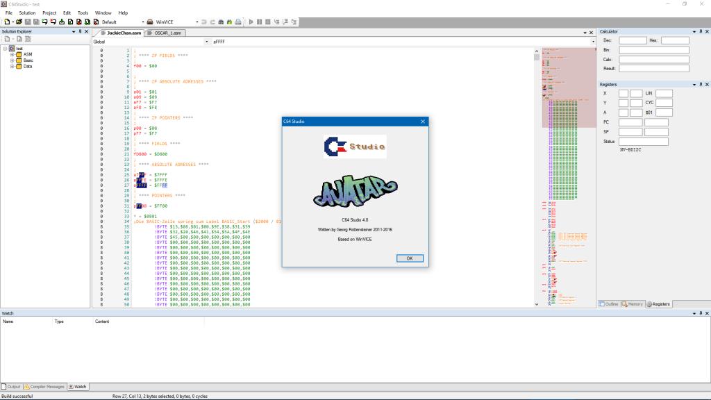 Das C64 Studio 4.8