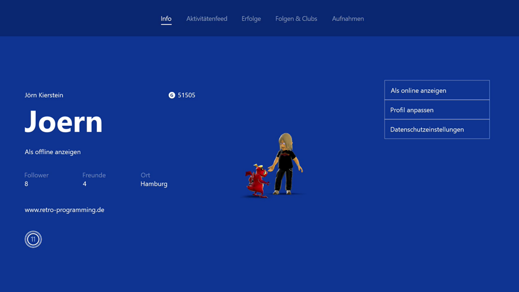Xbox Live Profil