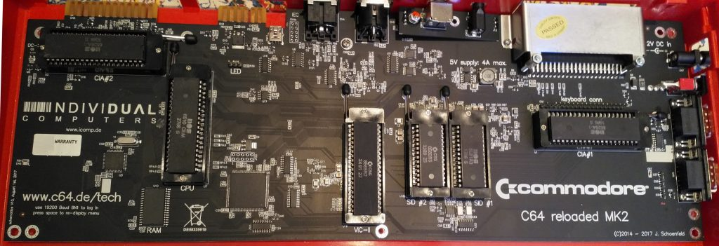 C64 Reloaded MK2 mit allen Chips.