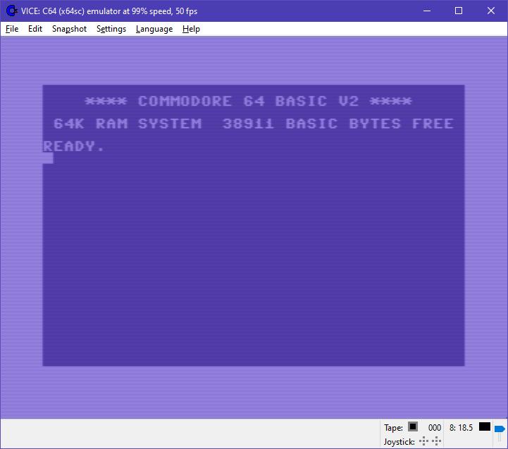 WinVice 3.1